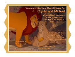 lion king baby shower invitations christmanista com