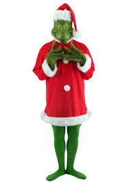 deluxe grinch costume dr suess costumes