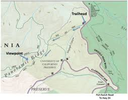 Pony Express Route Map by Claremont Canyon Lookout The Undiscovered Hikes Of Lamorinda