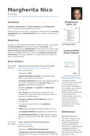 Sample Marketing Manager Resume by Marketing Coordinator Resume Samples Visualcv Resume Samples