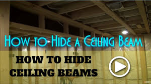 How To Frame A Wall by How To Box In Beams How To Frame A Beam Youtube