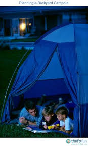 Backyard Campout Ideas Camping In Your Own Backyard Backyard Camping And Activities