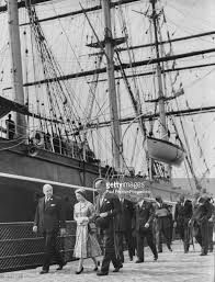 queen elizabeth ii opens cutty sark pictures getty images