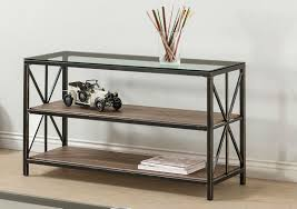 Iron Sofa Table by Avondale Black Glass Sofa Table Steal A Sofa Furniture Outlet