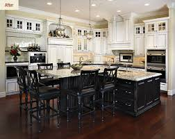 Family Kitchen Design Ideas I Like The Glass Top Cabinets They Look Like Transom Windows In A