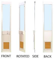 Pet Doors For Patio Doors Automatic Pet Door For Patio Medium Opening Regular Height