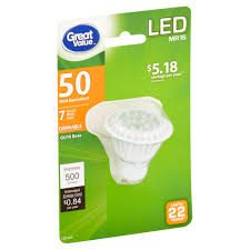 great value led light bulb 7w 50w equivalent dimmable soft