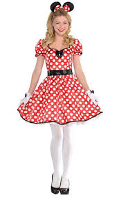 Minnie Mouse Costume Create Your Own Women U0027s Minnie Mouse Costume Accessories Party City