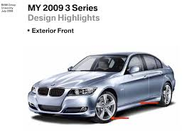 bmw series 3 2008 2008 bmw 3 series vs 2009 3 series facelift in images
