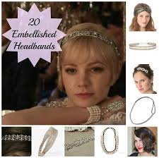 gatsby headband 20 best embellished headbands and headwraps
