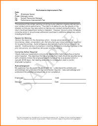 4 employee performance improvement plan template mail clerked