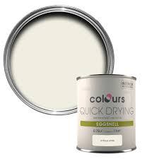 colours quick dry antique white eggshell wood u0026 metal paint 750 ml