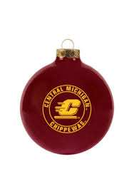 central michigan chippewas ornaments cmu chippewas