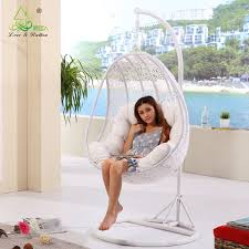 Christopher Knight Home Swinging Egg Outdoor Wicker Chair by Furniture Fantastic Furniture For Bedroom Decoration Using Floor