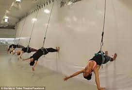 Exercise Upside Down Chair New Bungee Workout Has People Quite Literally Bouncing Off The