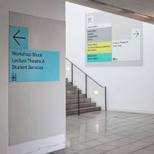 London College Of Interior Design Lcc Wayfinding By Pentagram This Is Where I Went To Grad