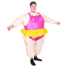 funny womens halloween costumes inflatable ballerina costume funny party blow up halloween suit