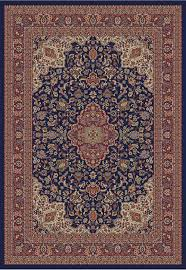 Navy Area Rug Concord Global 4104 Navy Area Rug