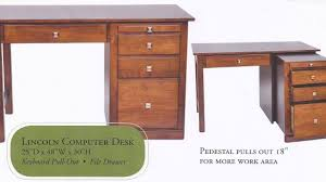 48 Office Desk Office Desk With Locking Drawers Cabinet Advanced Lock
