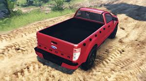 Ford Ranger Truck Mods - ranger 2016 v2 0 for spin tires