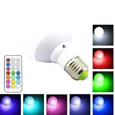 remote control light bulb socket 12 color led light bulb with remote control gadget solution expert