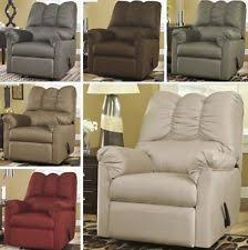Armchair Recliners Wooden Living Room Polyester Recliner Chairs Ebay