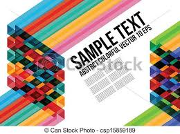 pattern art name abstract colorful triangle pattern background cover vector