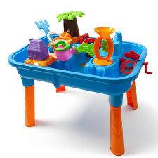 water table for 1 year old beach sand water play table a perfect activity set to take on