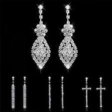 earrings for prom earrings bridal jewelry ebay