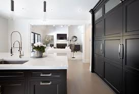 white kitchen with long island kitchens pinterest black cabinets from the ken kelly signature collection gray