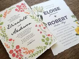 wedding invitations make your own diy wedding make your own deckle edge wedding invitations e m