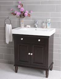 Bathroom Furniture Black Bathrooms Pretty Narrow Bathroom Cabinet With Stylish Small