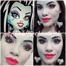 Monster High Frankie Stein Halloween Costume by Here Is A Look I Did Based On Frankie Stein From Monster High