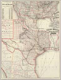 Central Mexico Map by Texas And Mexico Houston And Texas Central Railways David