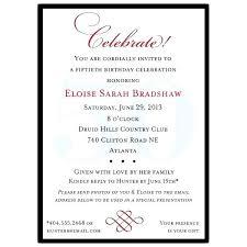 wedding reception programs sle 50th birthday invitations birthday invitation wording