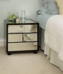 bedroom affordable mirrored bedroom furniture narrow nightstand