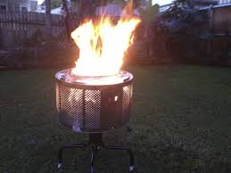Old Fire Pit - making a fire pit from washing machine drum anyone made one