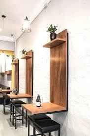 Wall Bar Table This Is Kitchen Wall Table Boldventure Info