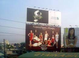 edsa guadalupe northbound billboard of standard chartered bank