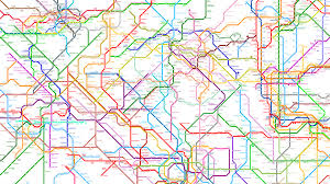Tokyo Subway Map by 214 Subway Systems Combined Into One Worldwide Metro Map Where