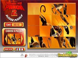 kung fu panda 2 puzzle slider game