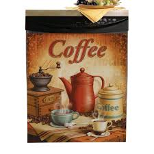 coffee themed kitchen canisters amazon com vintage coffee dishwasher cover refrigerator magnets