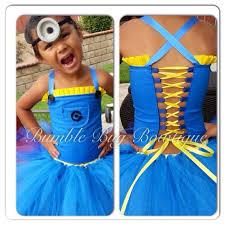 Girls Minion Halloween Costume 257 Kid U0026 Dog Costumes Images Halloween Ideas