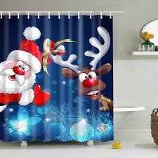 Christmas Bathroom Decor Walmart by Best 25 Christmas Shower Curtains Ideas On Pinterest Christmas