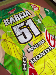motocross jersey sale justin barcia race worn jersey for sale bazaar motocross