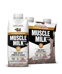 100 calorie muscle milk light vanilla crème muscle milk coffee house protein shake muscle milk