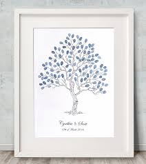 wedding trees fingerprint guest book tree wedding tree alternative guest