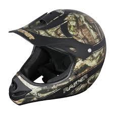 lightweight motocross helmet raider ambush mx mossy oak infinity lawn u0026 garden atv