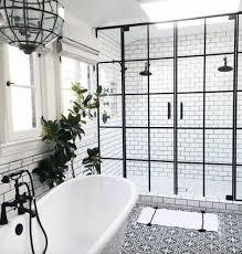 Black Bathroom Floor Tiles Best 25 Black Tile Bathrooms Ideas On Pinterest Black Tiles