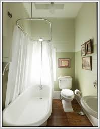 Clawfoot Tub Shower Curtain Liner Clawfoot Tub Shower Curtain Do This In Hanging Shower Curtain Rod